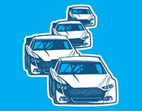 Sirius NASCAR Weekend Graphics