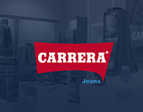 Carrera Jeans Landing Page