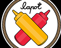 Illustrations for Lapot brand