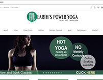 Earths Power Yoga Responsive Website