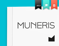 MUNERIS branding