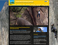 Castle Rock Climbing School Web Site