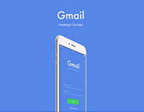 Gmail Redesign Concept - Sketch