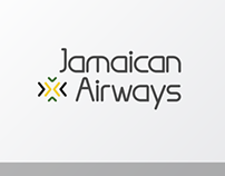Jamaican Airways - Logo Design (2011)