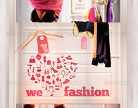 We Love Fashion Flyer Template