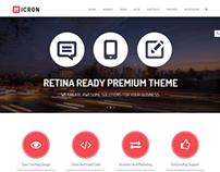 Micron - Retina Responsive Multi-Purpose Theme