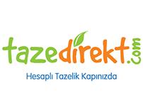 Tazedirekt.com B2C Web Design