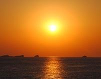 Nightfall in Ibiza