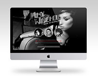 Back to Black Tribute Website.