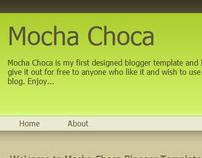 Mocha Choca - Free Blogger Template