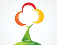 Branding Vivir green