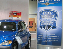 Chrysler Display ifor the Texas State Fair