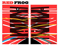 Red Frog by Manuel Jaen