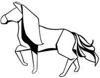 Paper Horse Icon