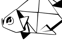 Paper Fish Icon