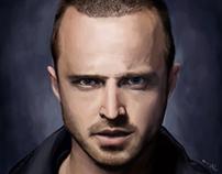 Aaron Paul Portrait