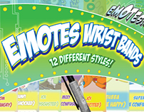 Emotes Wrist Bands