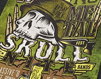 Skull Nite - NÜ METAL Fest / FLYER
