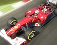 F1 2012 - UI