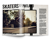 Skateboarding Magazine Feature