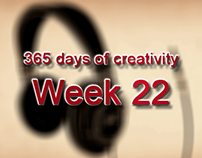 365 days of creativity/art - Week 22