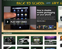 CNET.com Back-To-School Feature