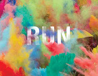 The Color Run Ads