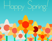Blooming Daffodils | Happy Spring