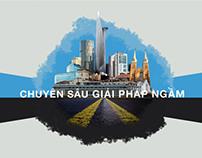 Redesign Dung Tien Construction website