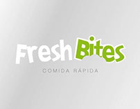 Fresh Bites \ isologo design by Jaime Claure