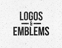 One Color Logos & Emblems Vol.1