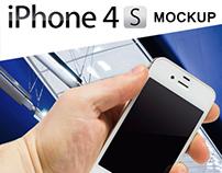 iPhone 4s Mockup