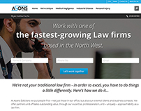 Asons Landing & Web Page Redesigns