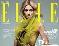 Dauphine McKee for ELLE Vietnam Haute Couture April 14