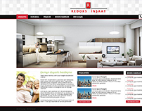 Redoks Gayrimenkul - Web Design