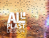 branding for Alplast design -  window company