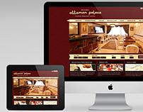 Ottoman Palace - Web Design