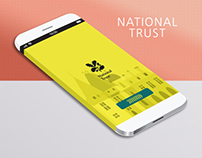 UI Design for National trust
