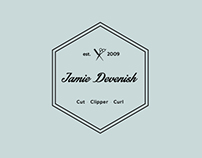 Jamie Devenish Identity.