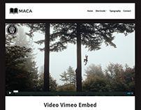Maca - Responsive Blog WordPress Theme