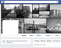 Free Photoshop Actions: Facebook Grid Covers
