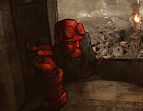 "Hellboy  ""20 Years of Hellboy"" Art Contest"
