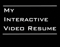 My Interactive Video Resume