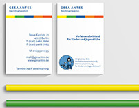 Stationery Design – Lawyer for children