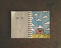 3 day sketchbook