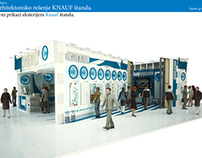 Architectural Competition Design of KNAUF Fair Stand.