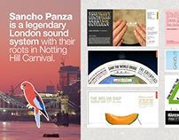 Sancho Panza: 10 years of noise and colour