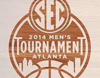2014 SEC Men's Basketball Tournament Graphics