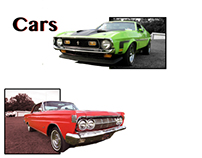 Car advertisement images