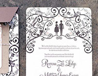 Matt & Ronni Wedding Stationery